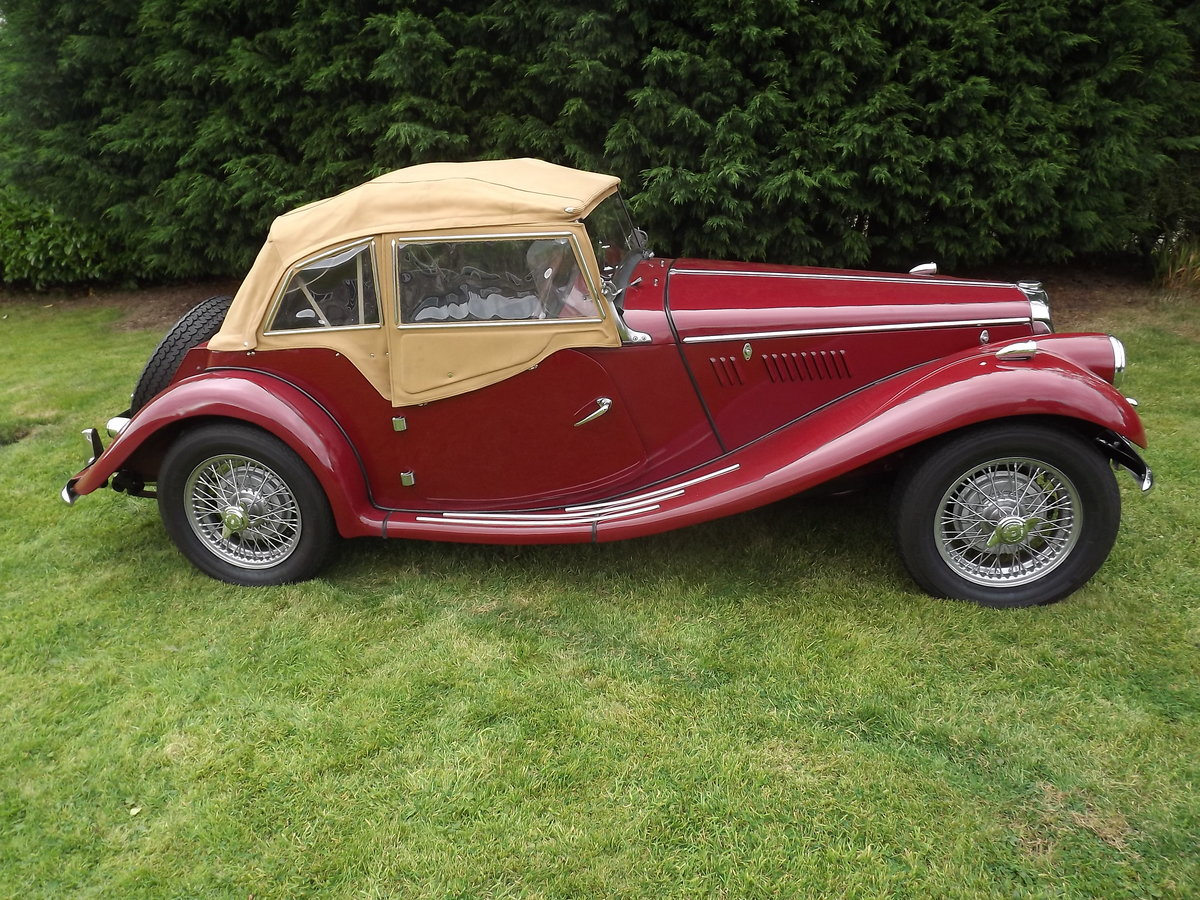 1954 MG TF Restored  For Sale (picture 2 of 6)