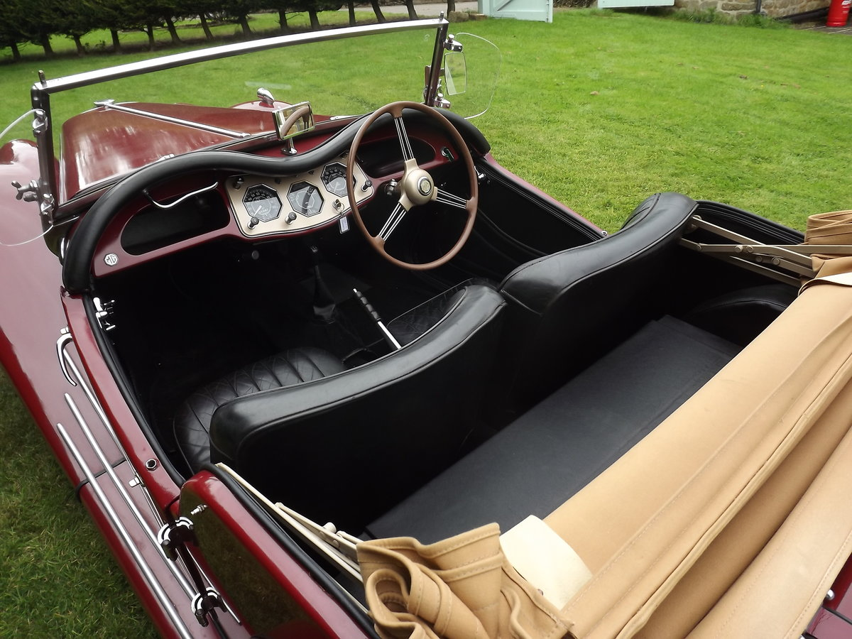 1954 MG TF Restored  For Sale (picture 3 of 6)