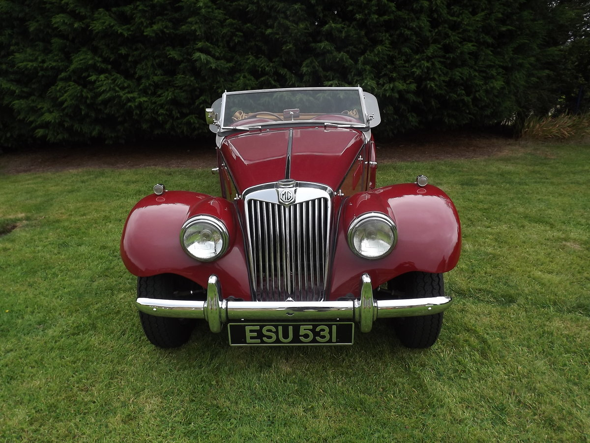 1954 MG TF Restored  For Sale (picture 5 of 6)