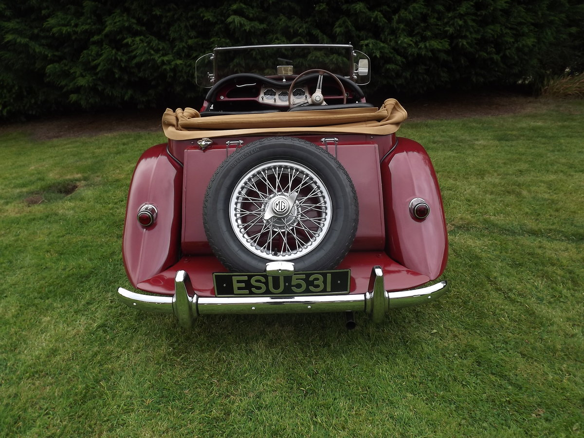 1954 MG TF Restored  For Sale (picture 6 of 6)