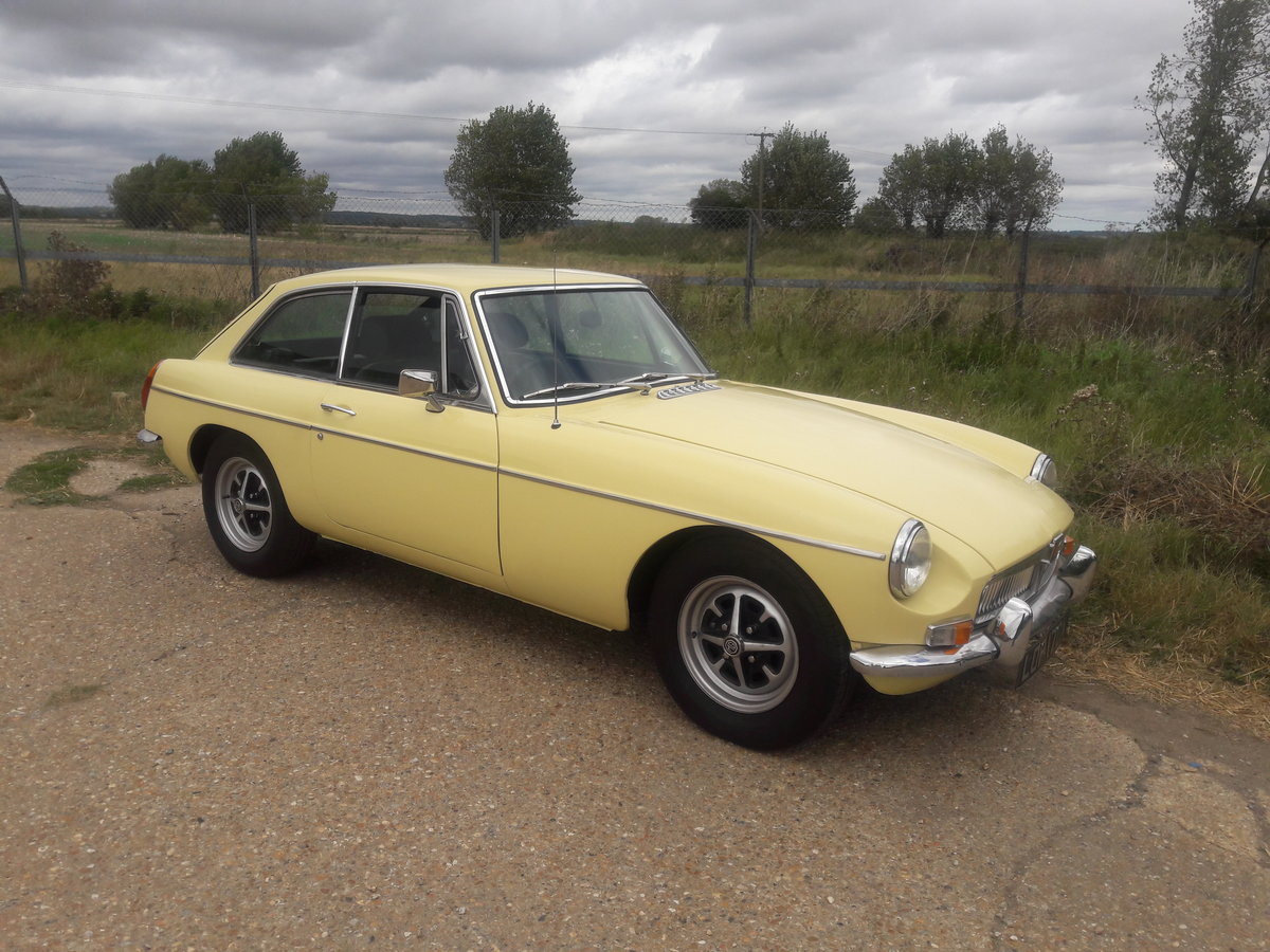 1981 MGB GT  Primrose Yellow For Sale (picture 1 of 6)