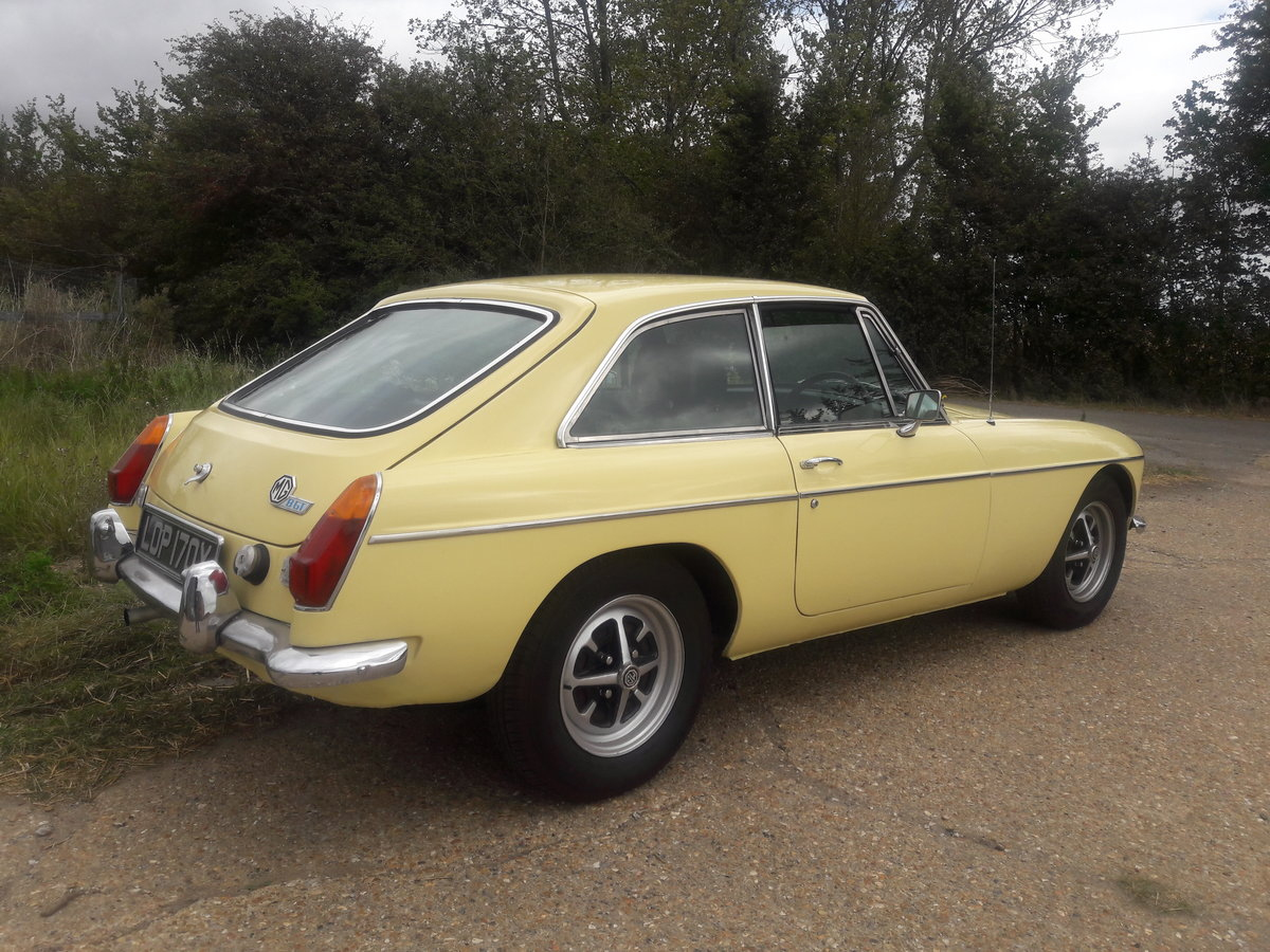 1981 MGB GT  Primrose Yellow For Sale (picture 2 of 6)