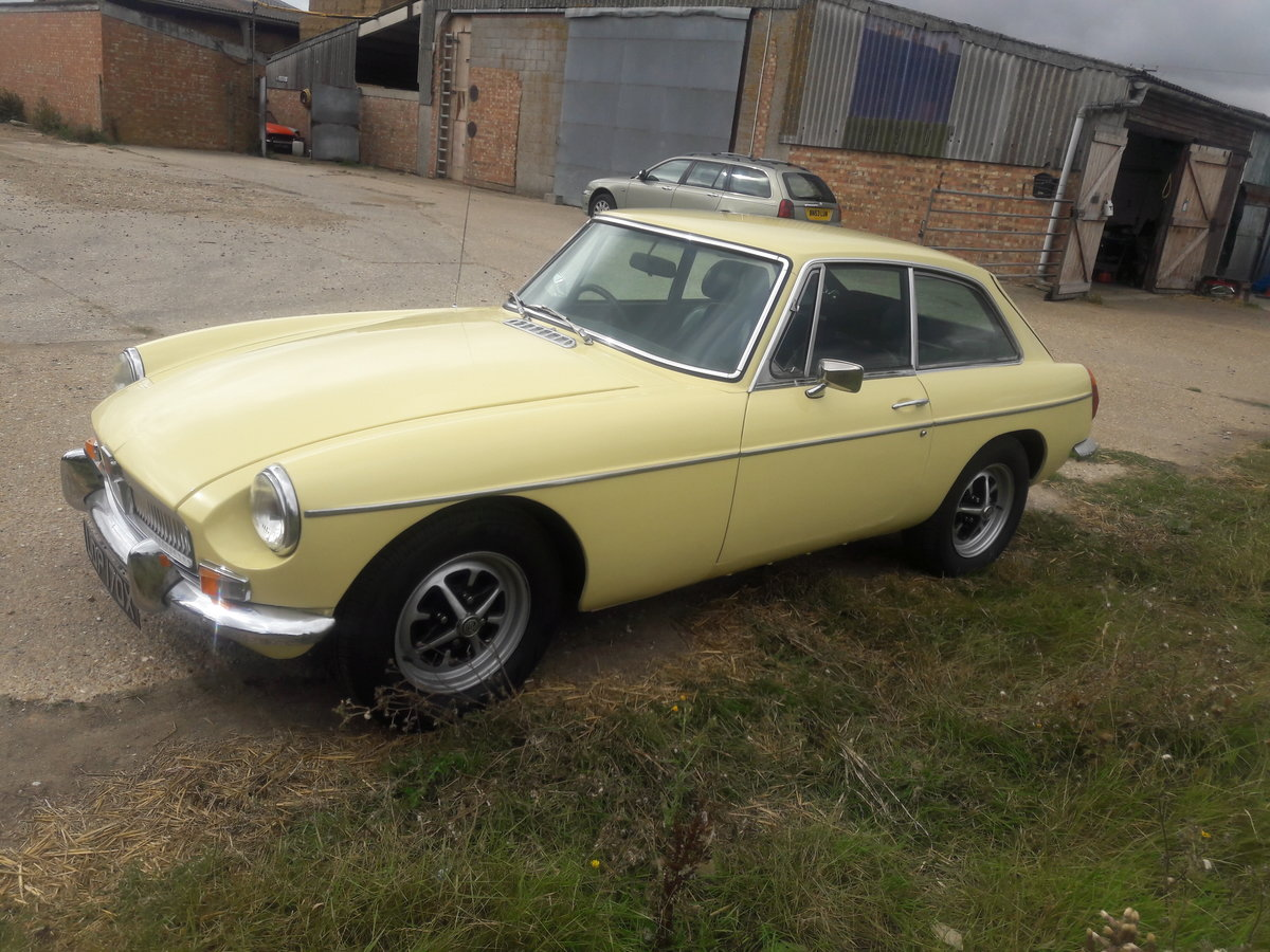 1981 MGB GT  Primrose Yellow For Sale (picture 4 of 6)
