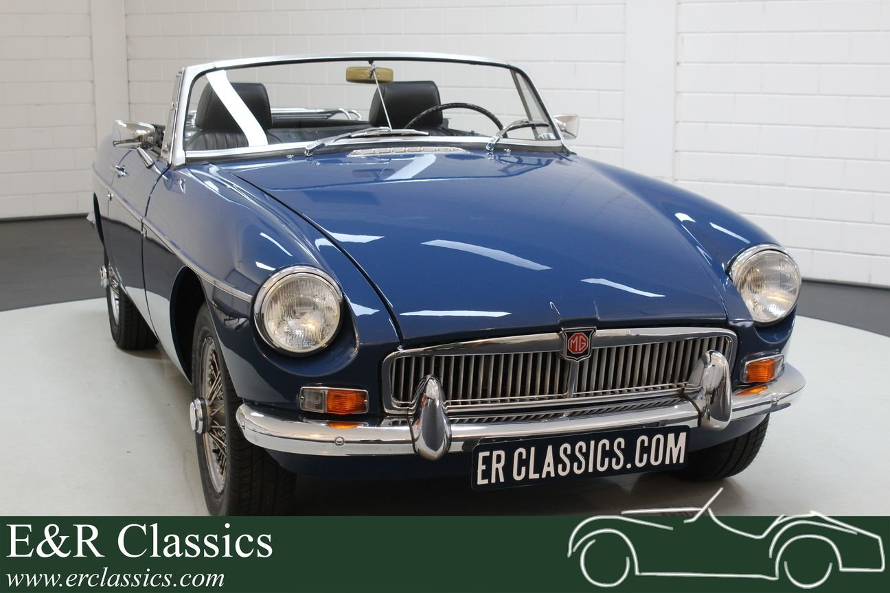 MG B Cabriolet Old style 1964 very good condition For Sale (picture 1 of 6)