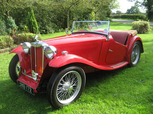 1947 MG TC SOLD