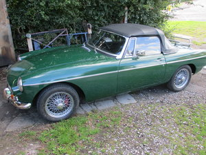 1970 MGB roadster BRG O/D rebuilt For Sale