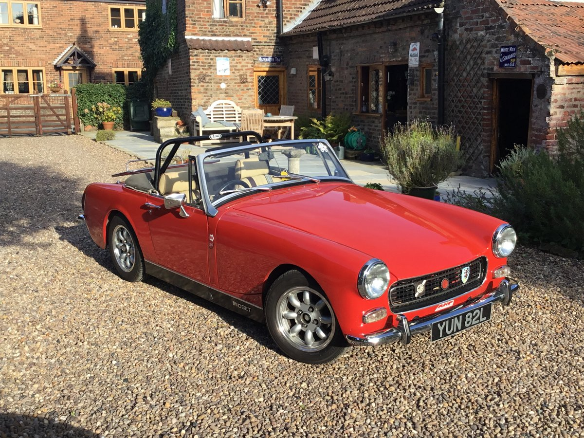 MG Midget. Fast road spec.1972 Round Wheel Arch For Sale (picture 1 of 6)