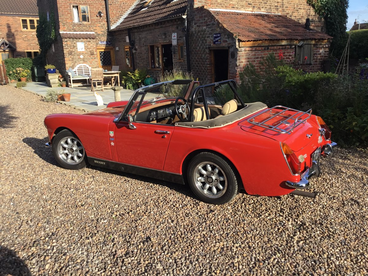MG Midget. Fast road spec.1972 Round Wheel Arch For Sale (picture 3 of 6)
