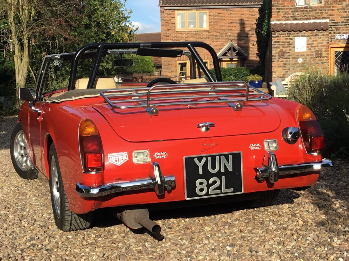 MG Midget. Fast road spec.1972 Round Wheel Arch For Sale (picture 4 of 6)