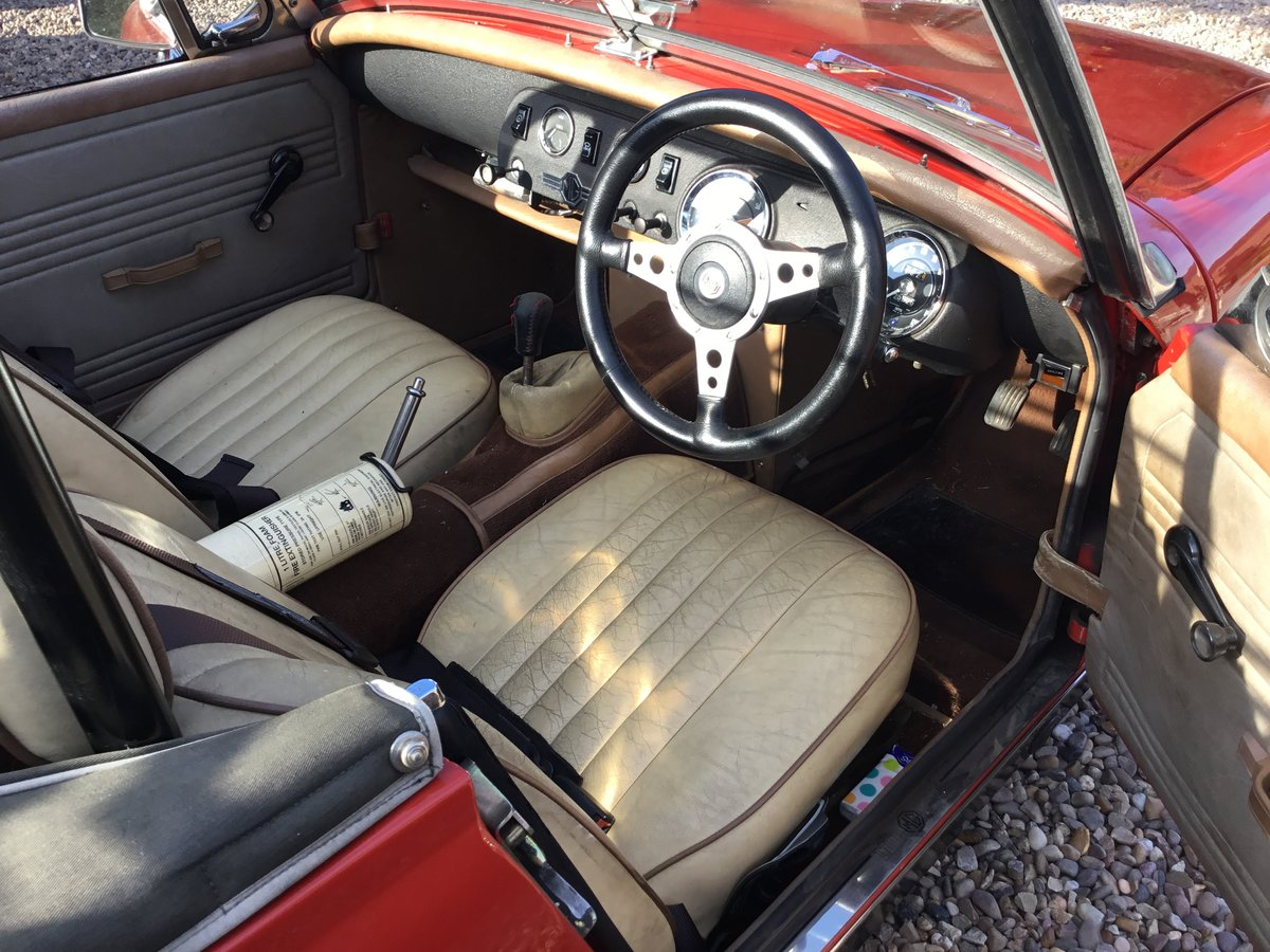 MG Midget. Fast road spec.1972 Round Wheel Arch For Sale (picture 6 of 6)