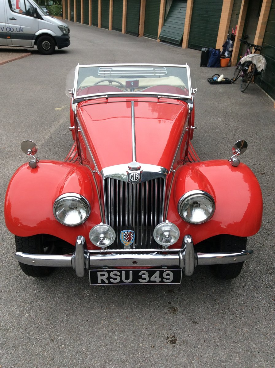 1954 MG TF For Sale (picture 1 of 5)