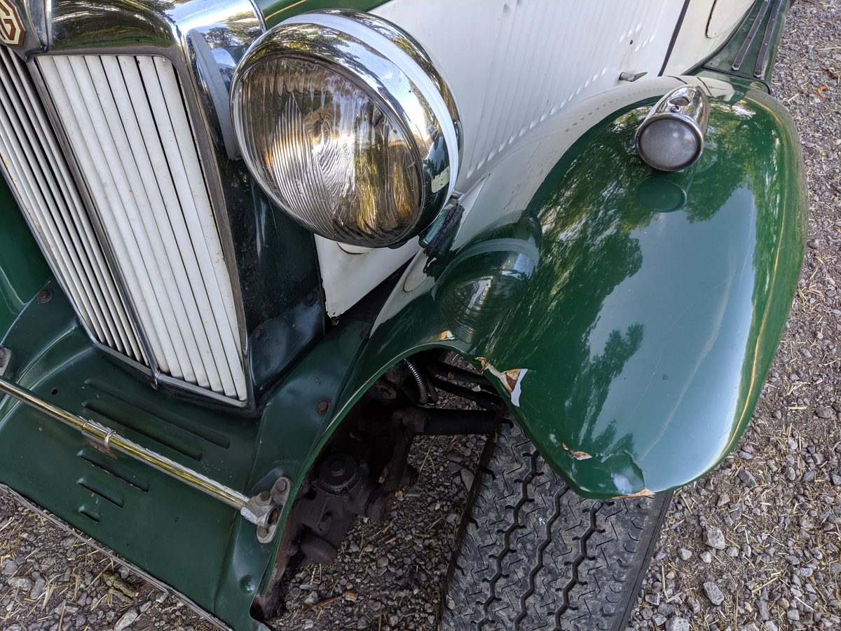 1949 MG TC Rolling Restoration Numbers Matching UK Car For Sale (picture 2 of 6)