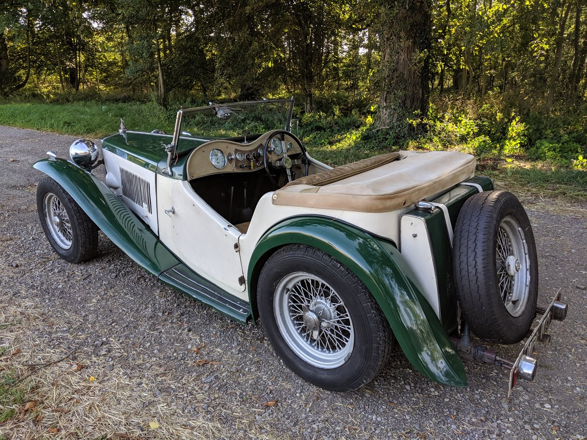 1949 MG TC Rolling Restoration Numbers Matching UK Car For Sale (picture 3 of 6)