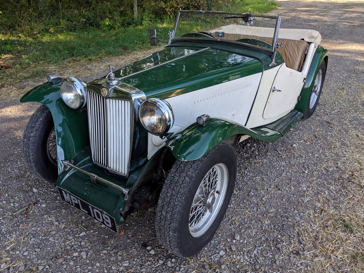 1949 MG TC Rolling Restoration Numbers Matching UK Car For Sale (picture 6 of 6)