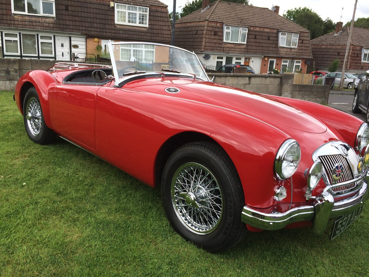 1959 MGA MK1 1500 Roadster UK Car  For Sale (picture 1 of 6)