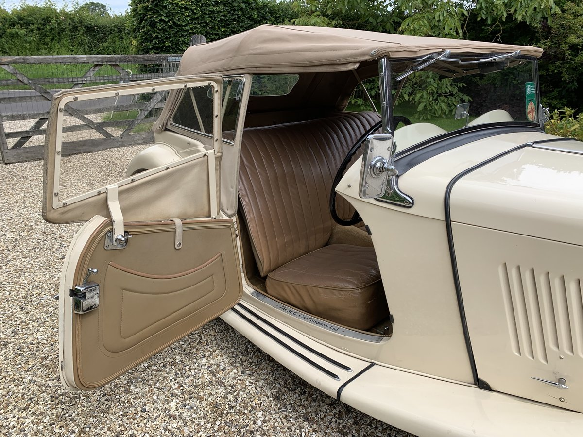 1949 MG TC , California car excellent condition For Sale (picture 3 of 6)