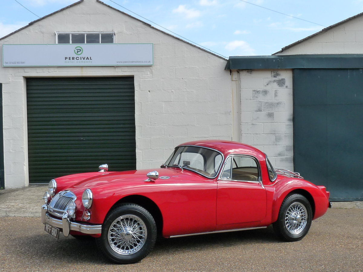 1960 MGA 1600 Coupe Mk1, extensive history For Sale (picture 1 of 6)