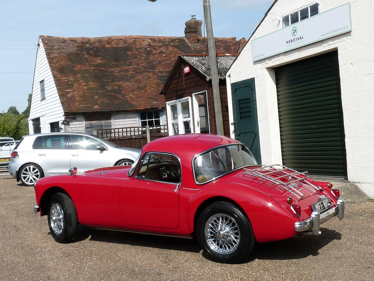 1960 MGA 1600 Coupe Mk1, extensive history For Sale (picture 2 of 6)