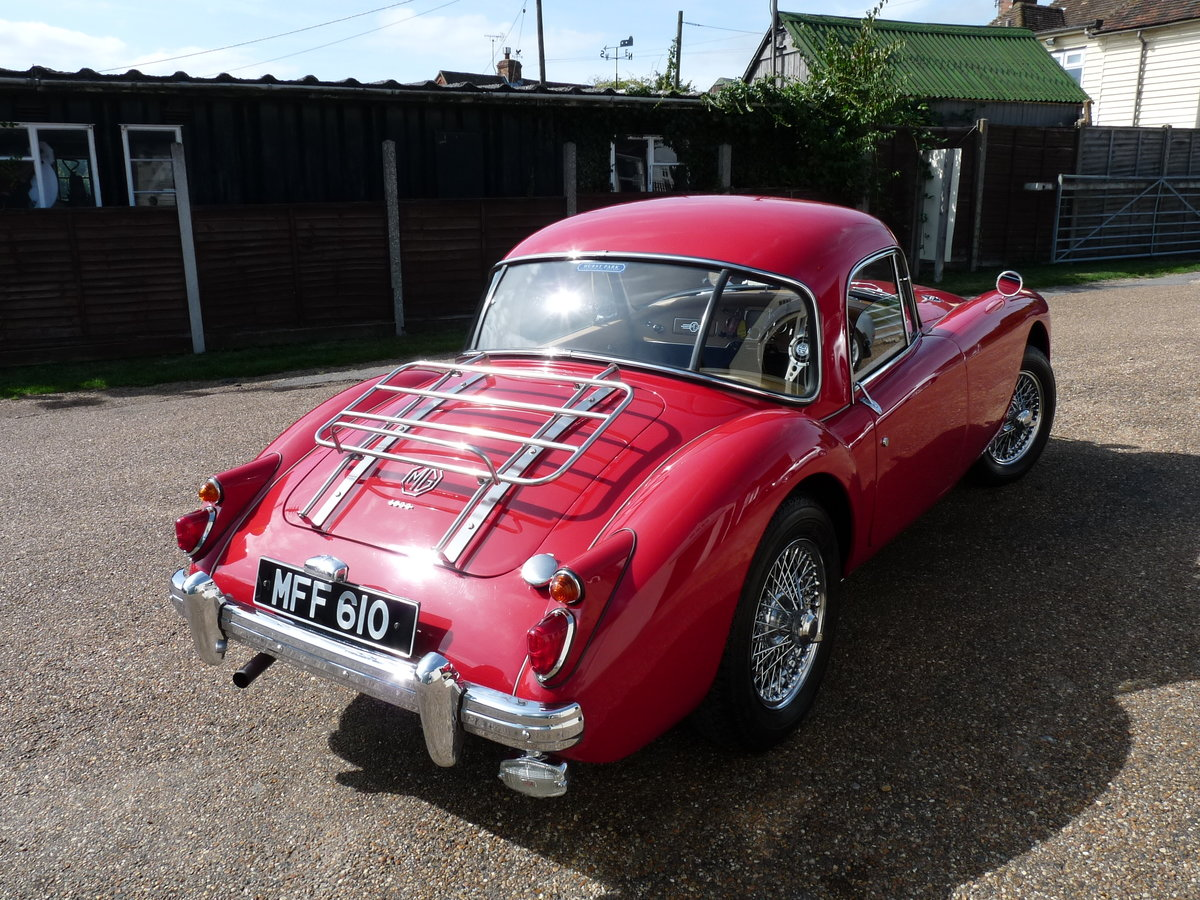 1960 MGA 1600 Coupe Mk1, extensive history SOLD (picture 4 of 6)