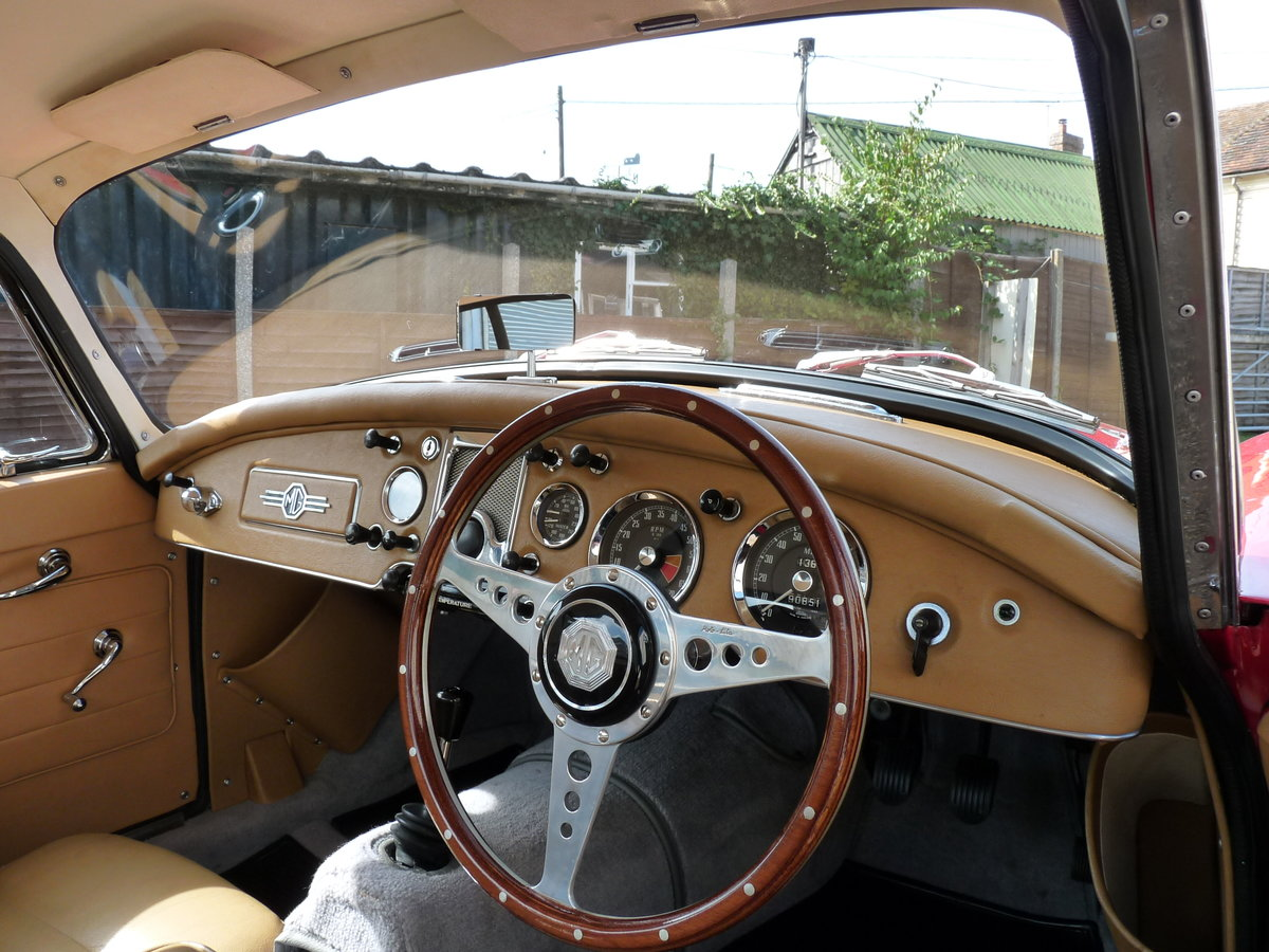1960 MGA 1600 Coupe Mk1, extensive history For Sale (picture 6 of 6)