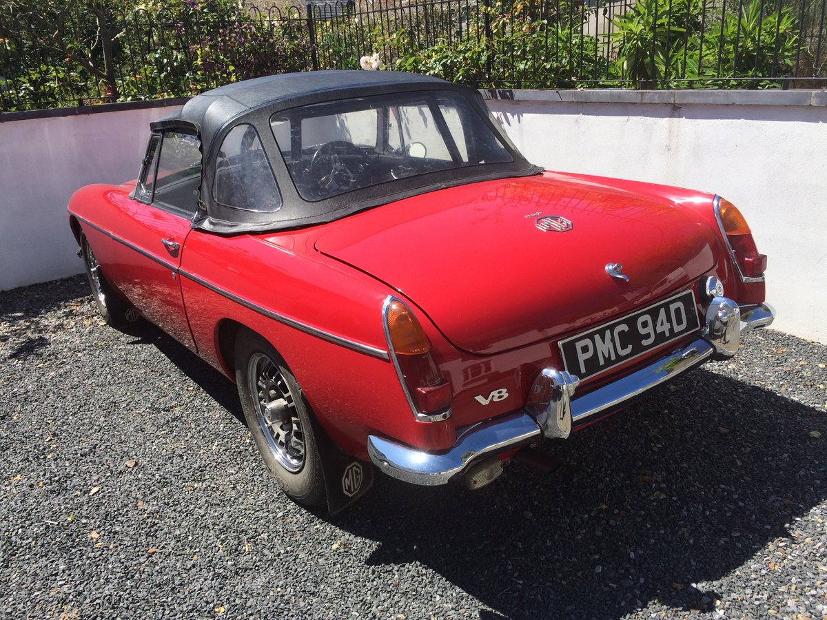1966 MGB V8 Roadster 3.5l For Sale (picture 4 of 6)