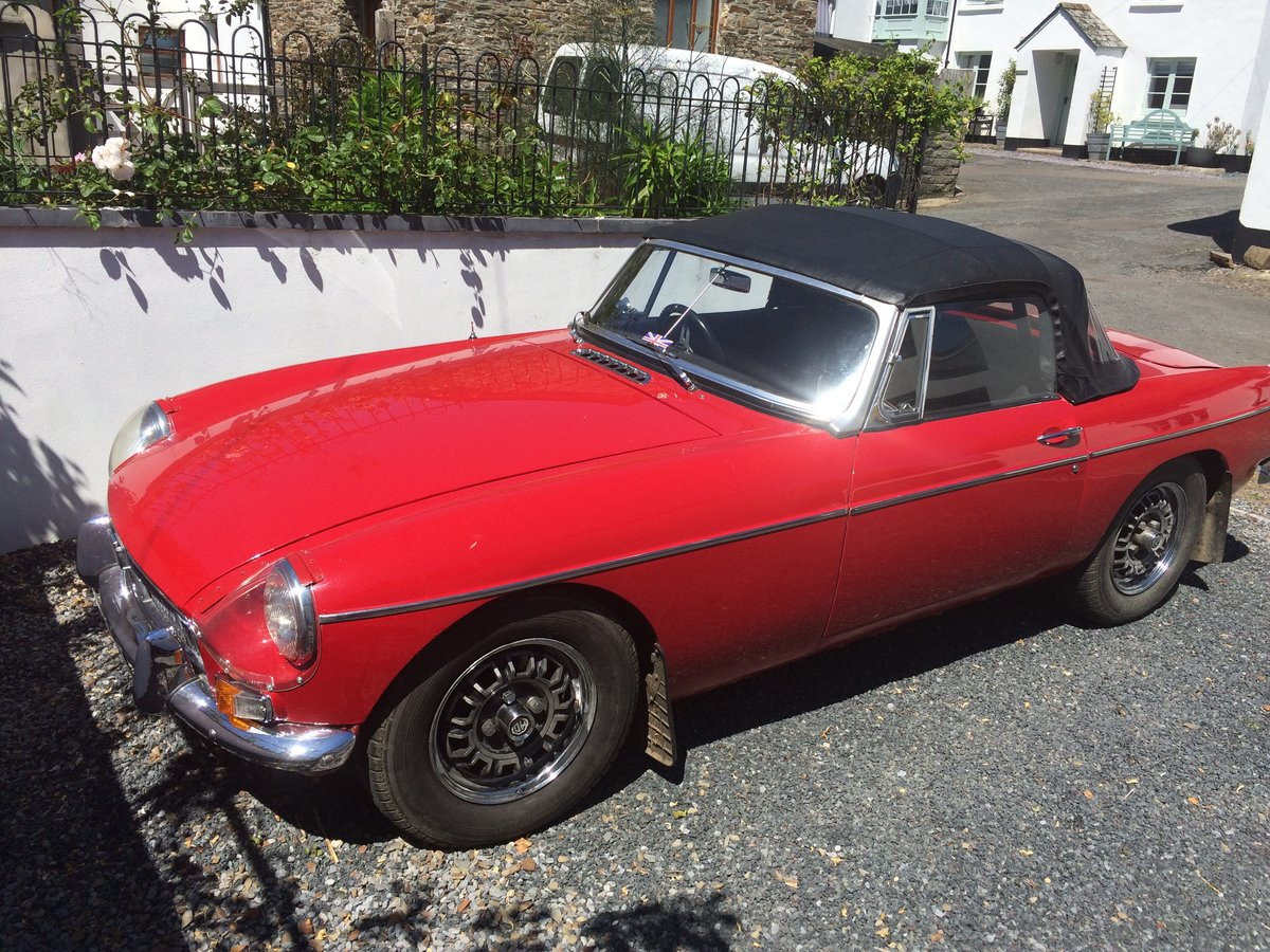 1966 MGB V8 Roadster 3.5l For Sale (picture 5 of 6)