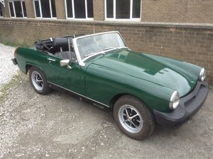 1978 MG Midget 1500  SOLD