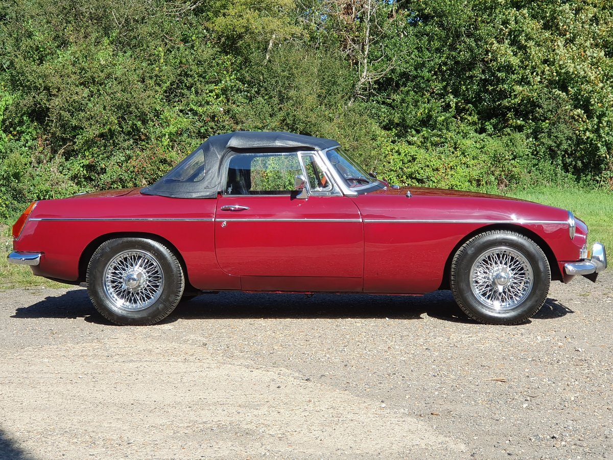 MG B Roadster, 1977, Damask Red For Sale (picture 1 of 4)