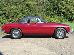 MG B Roadster, 1977, Damask Red For Sale