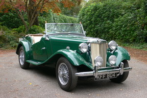1950 MG TD Midget For Sale by Auction