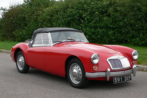 1962 MG A 1600 Roadster For Sale by Auction