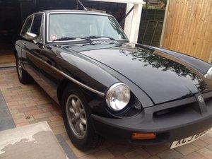 1979 MG BGT Black