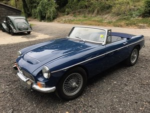 1968 MGC Roadster - bare shell rebuild For Sale