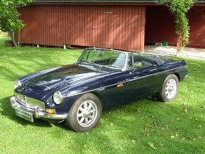 1969 MGC Europe model