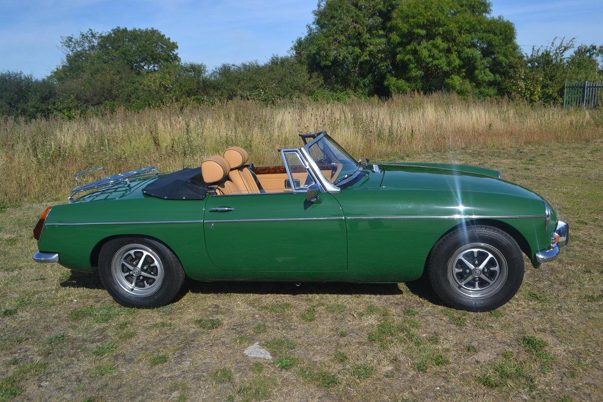 1971 MGB Roadster restored For Sale (picture 2 of 6)