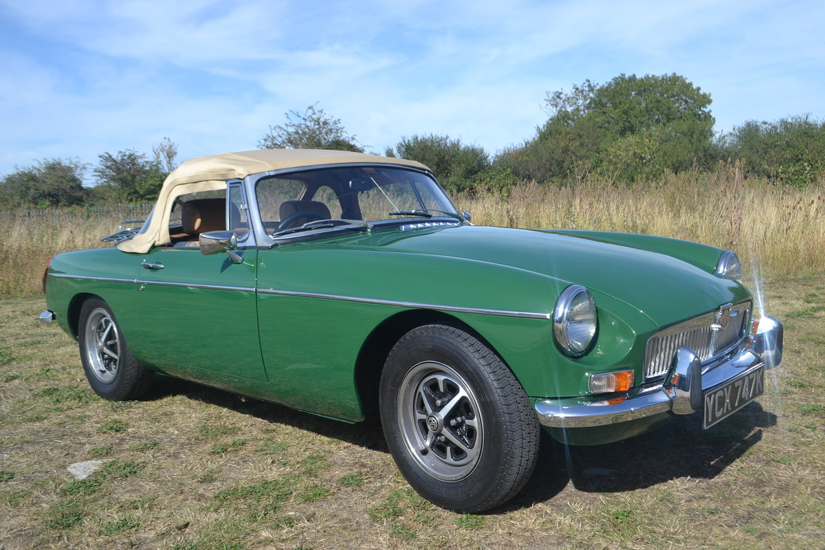 1971 MGB Roadster restored For Sale (picture 5 of 6)