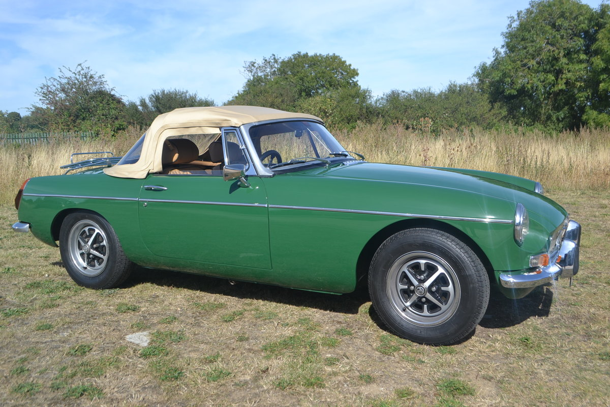 1971 MGB Roadster restored For Sale (picture 6 of 6)