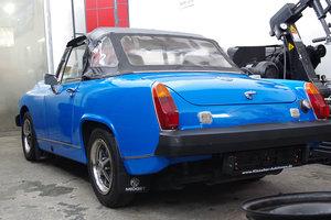 1978 MG Midget 1500-RHD-UK documents present For Sale