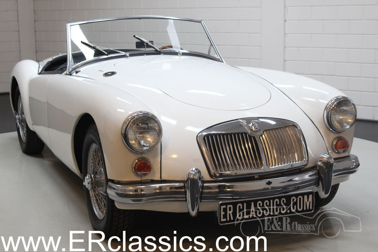 MGA Cabriolet 1961 Disc brakes front For Sale (picture 1 of 6)