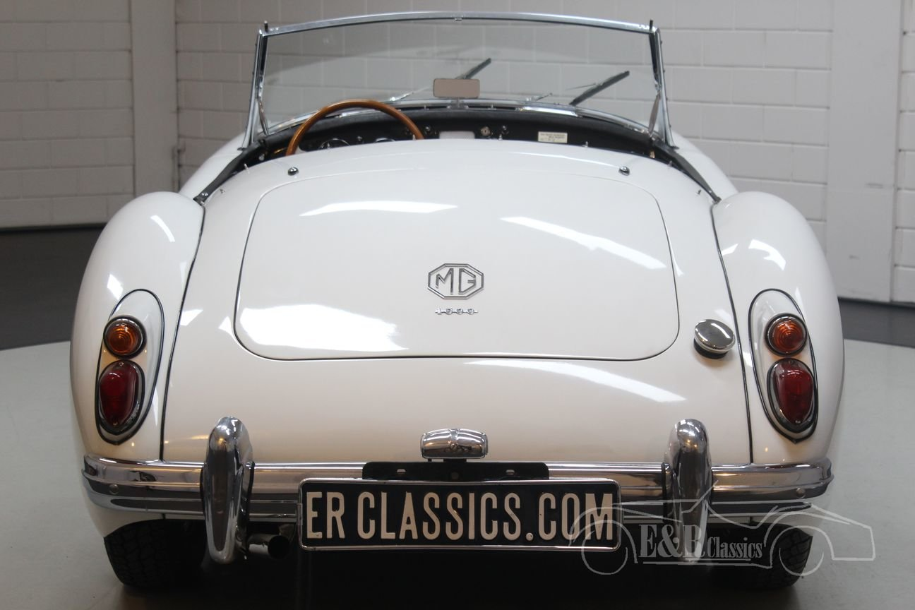MGA Cabriolet 1961 Disc brakes front For Sale (picture 5 of 6)