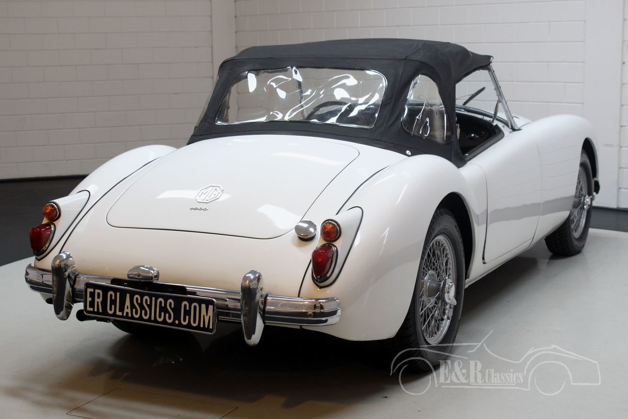 MGA Cabriolet 1961 Disc brakes front For Sale (picture 6 of 6)