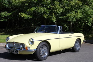 1968 MGB '1860' ROADSTER - OVERDRIVE