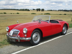1957 MG A Roadster- Great entry level MG A For Sale by Auction