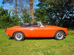 1972 MGB Roadster For Sale by Auction