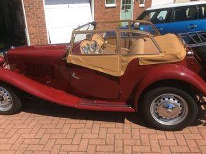 1953 MG TD Midget - Near Concours Condition