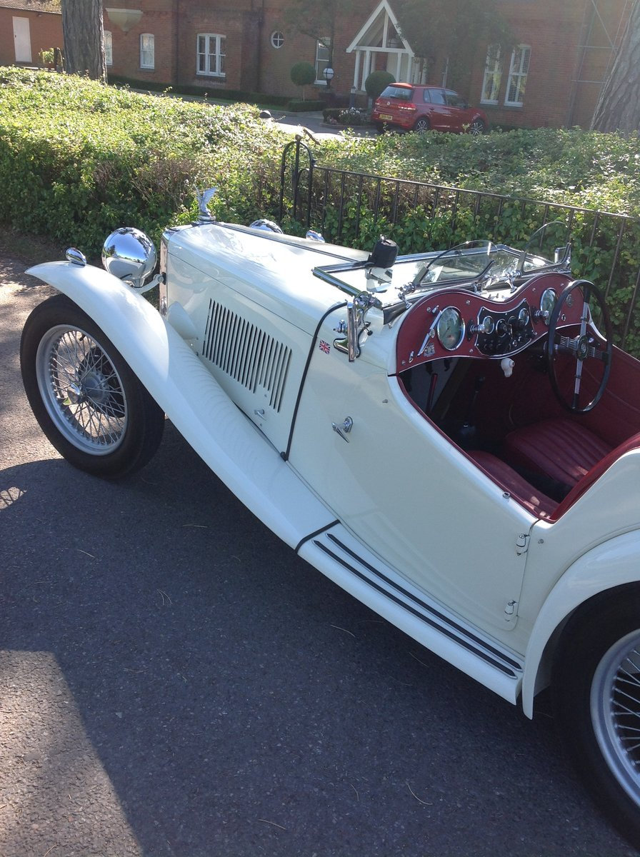 1949 MG TC Immaculate example. For Sale (picture 2 of 6)