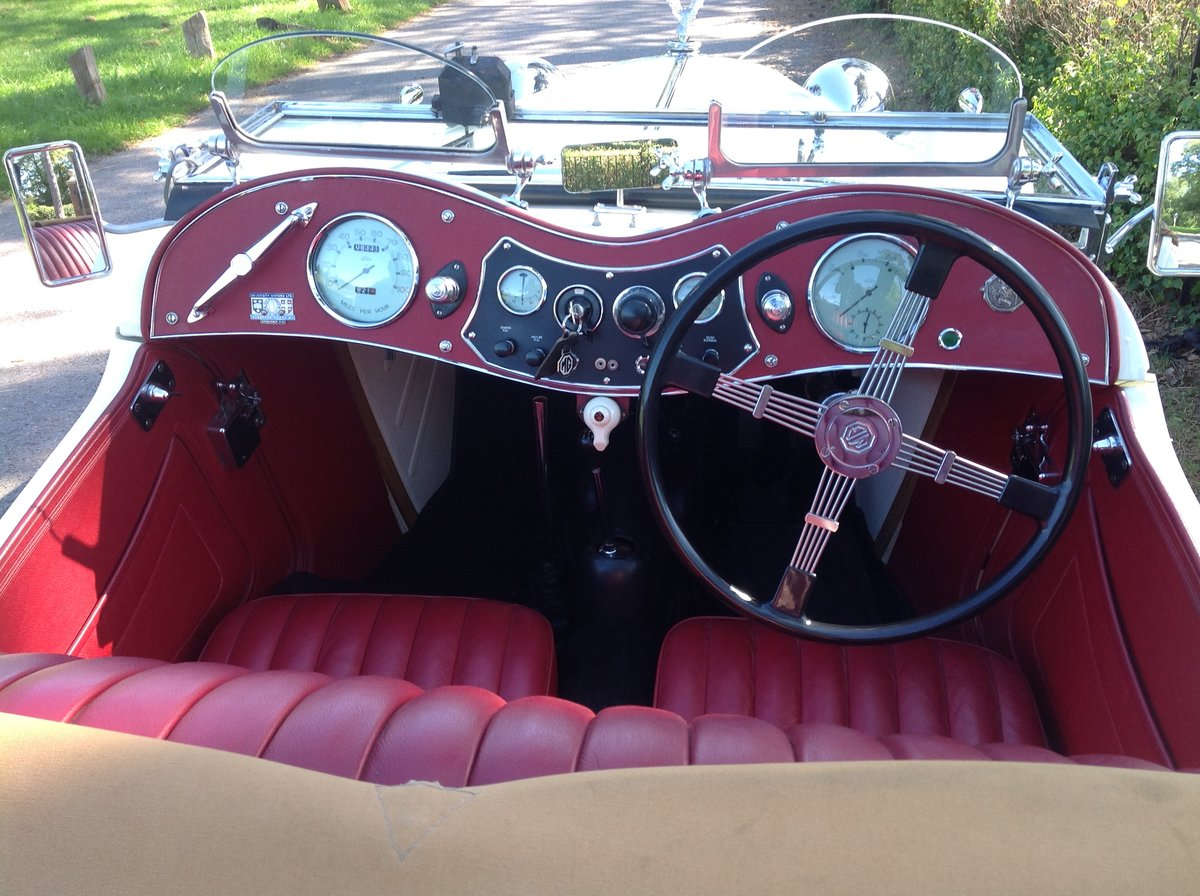 1949 MG TC Immaculate example. For Sale (picture 3 of 6)