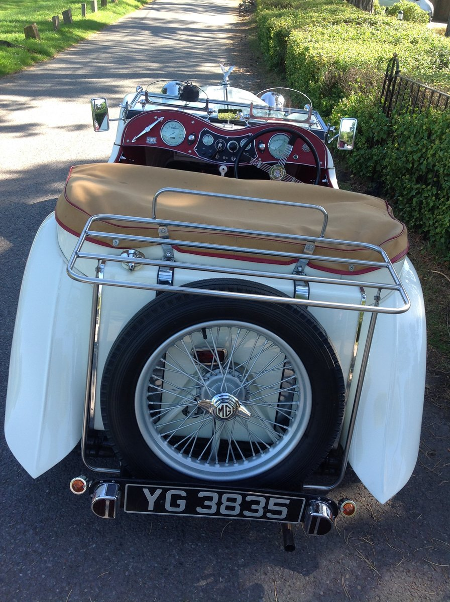 1949 MG TC Immaculate example. For Sale (picture 6 of 6)