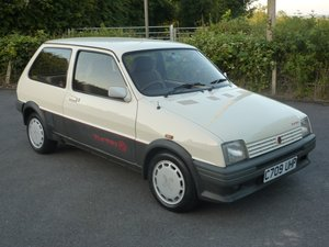 1985  MG Metro Turbo - Just 63,000 miles and super rare