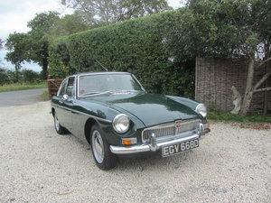 MGBGT 1965 Series 1  For Sale
